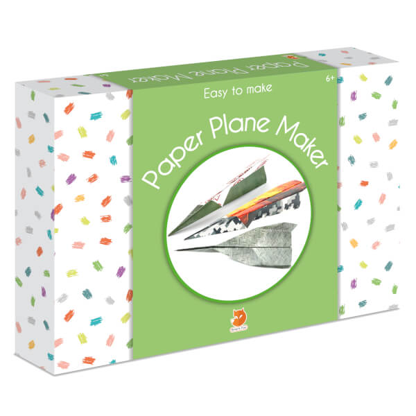 Smart Fox Jr. Easy to Make Paper Plane Maker