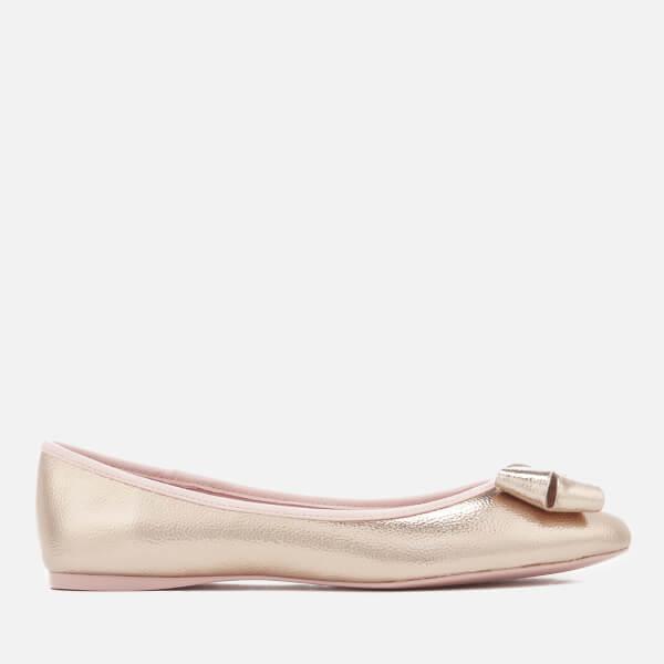 137596564b18a5 Ted Baker Women s Immet 2 Metallic Ballet Flats - Rose Gold  Image 1