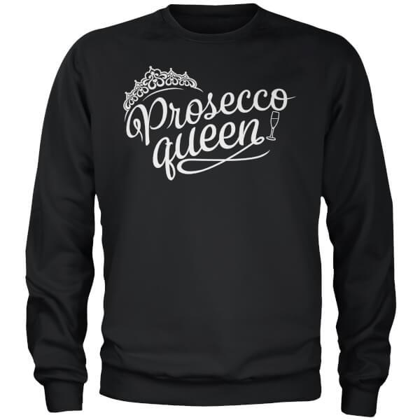 Prosecco Queen Black Sweatshirt