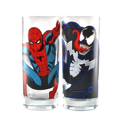 Marvel Spiderman - 2 Glass Set
