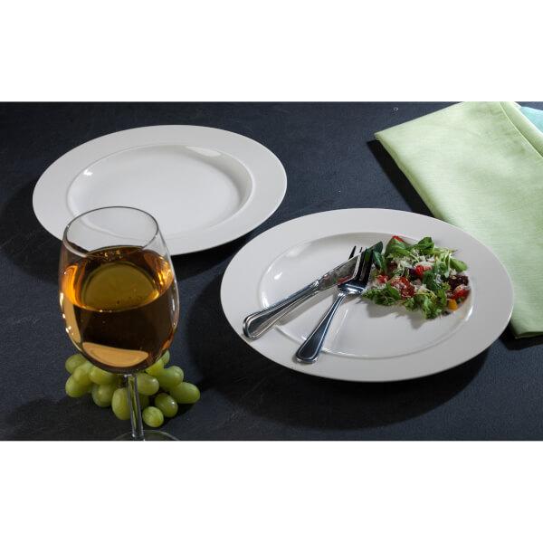 Alessi La Bella Dinner Plates - White (Set of 2) Image 4  sc 1 st  Zavvi & Alessi La Bella Dinner Plates - White (Set of 2) Homeware | Zavvi US