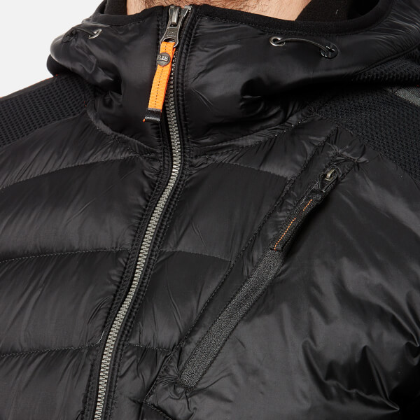 Parajumpers Men's Nolan Hooded Padded Jacket - Black: Image 4