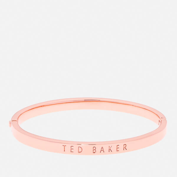 Ted Baker Women's Clemina Hinge Metallic Bangle - Rose Gold