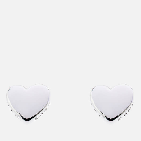 Ted Baker Women's Harly Tiny Heart Stud Earrings - Silver