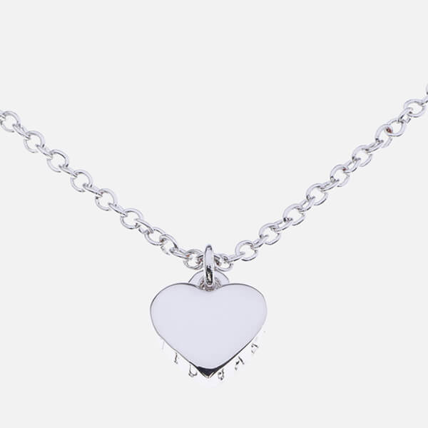 Ted Baker Women's Hara: Tiny Heart Pendant Necklace - Silver