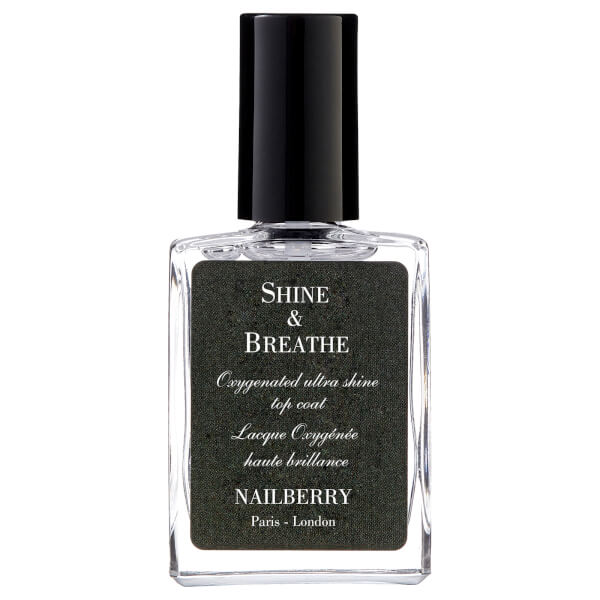 Nailberry Shine & Breathe Oxygenated Ultra Shine Top Coat ...