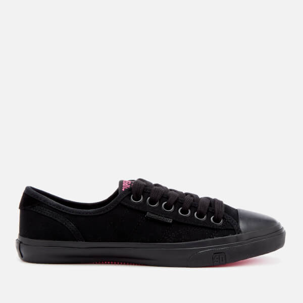 Superdry Women's Low Pro Sneakers - Black