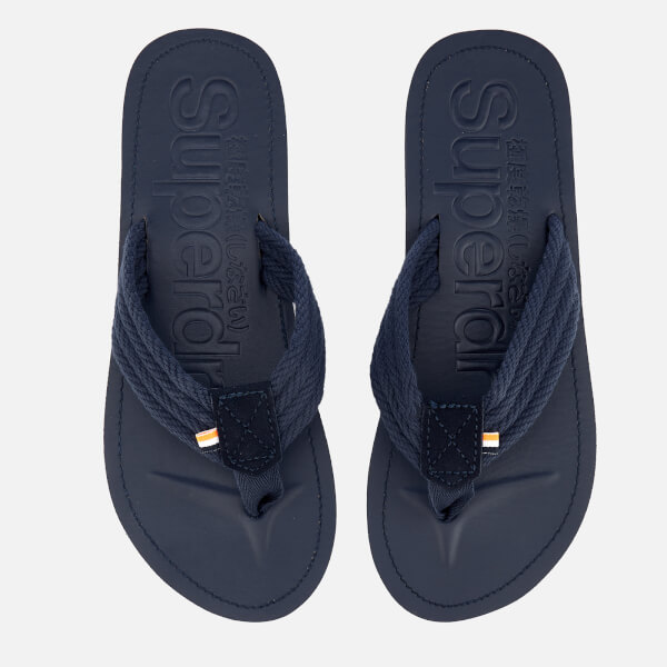 74f9af1bbee57 Superdry Men s Superdry Cove Sandals - Dark Navy  Image 1