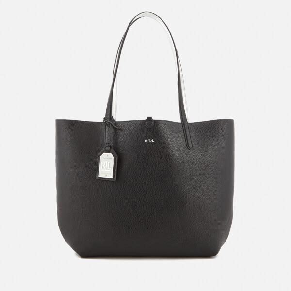 Lauren Ralph Lauren Women's Milford Olivia Tote Bag - Black/Silver