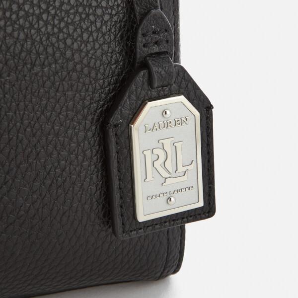 abf71b1adde9 Lauren Ralph Lauren Women s Milford Brooklyn Cross Body Bag - Black Silver   Image 4