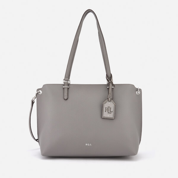 Lauren Ralph Lauren Women's Anfield Claire Shopper Bag - Light Grey