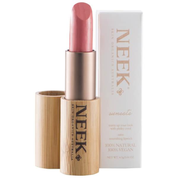 Neek Skin Organics 100% Natural Vegan Lipstick - Sunsets