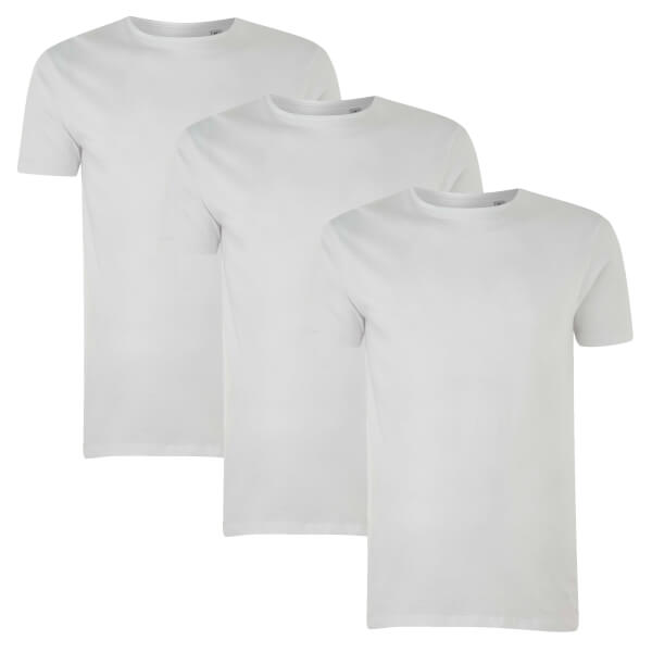 Native Shore Men's Essential 3 Pack T-Shirt - White