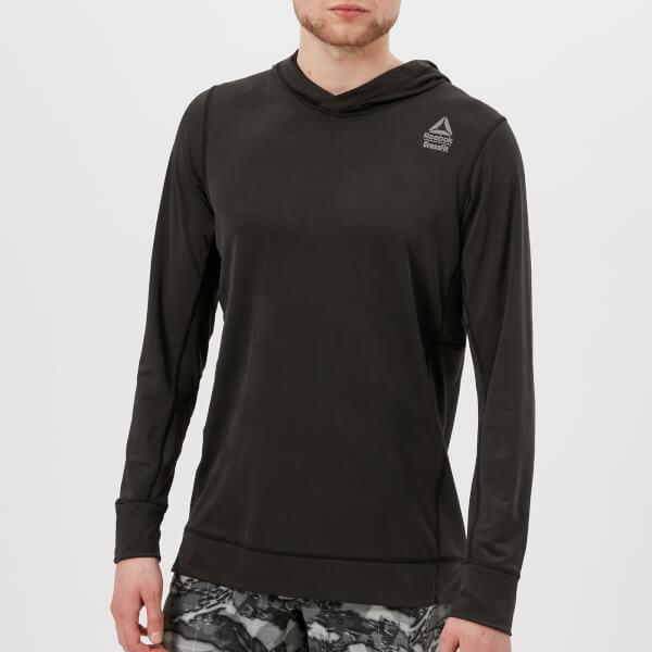 Reebok Men's CrossFit Jacquard Hoody - Black