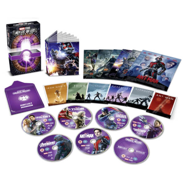 Marvel Studios Collector S Edition Box Set Phase 2 Blu