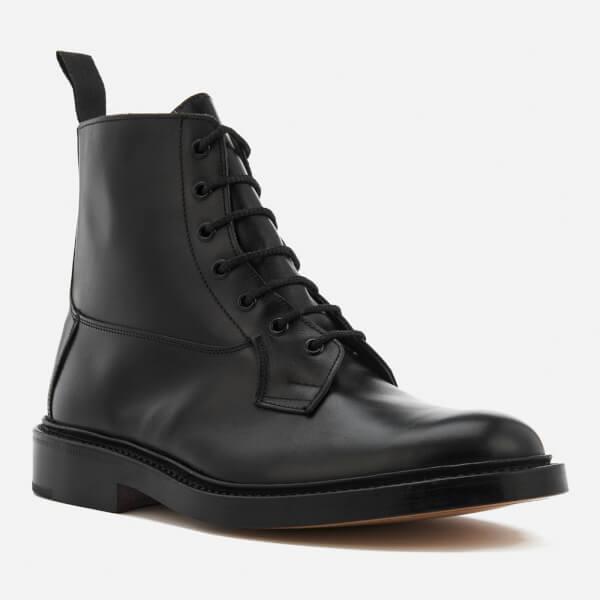 e3305e8e8c52 Tricker s Men s Burford Leather Lace Up Boots - Black  Image 2