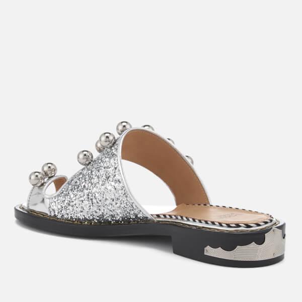 TOGA PULLA Women's Glitter Double Strap Sandals - - UK 3/EU 36 dPx0E1Naz