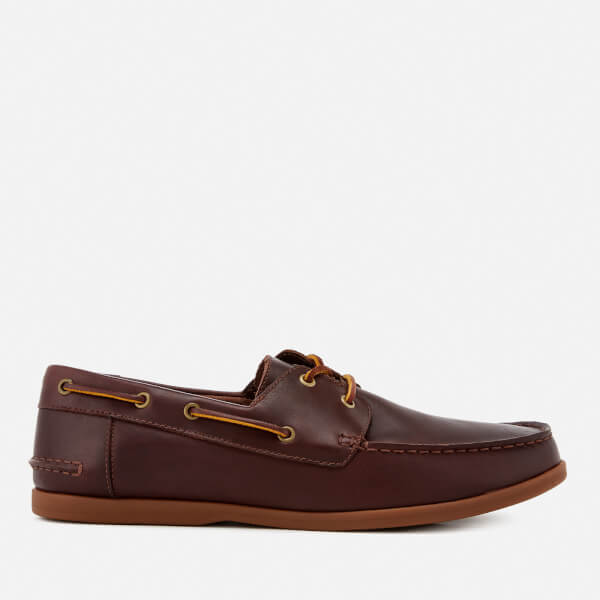 e891f8a726b Clarks Men s Morven Sail Leather Boat Shoes - British Tan  Image 1
