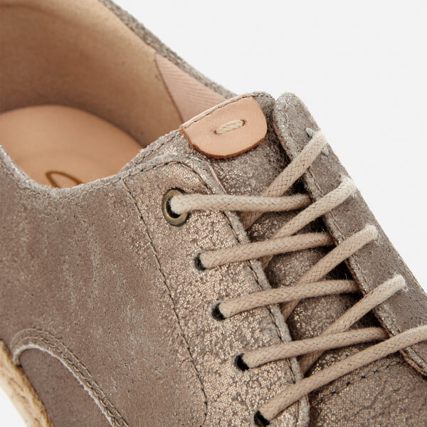 Clarks Teadale Rhea Pewter Suede Sft6Q