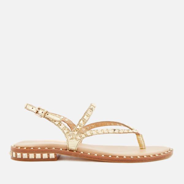 Ash Women's Peps Studded Toe Post Sandals - Ariel