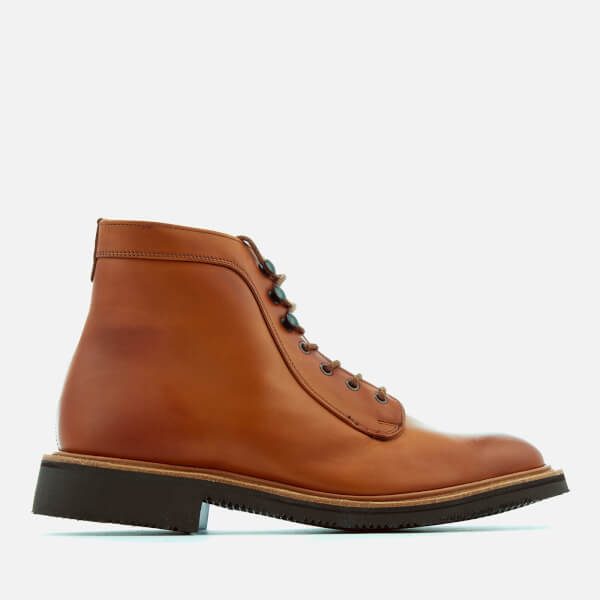 Tricker's Men's Hank Leather Lace Up Boots - Acorn