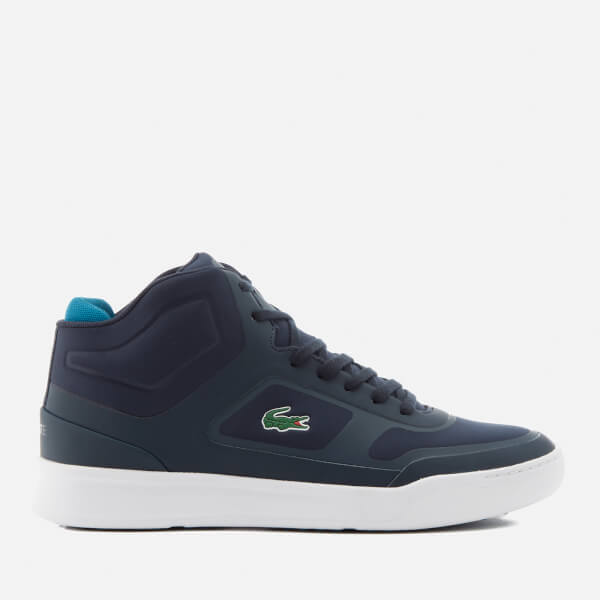Lacoste Men's Explorateur Mid 316 Trainers - Navy