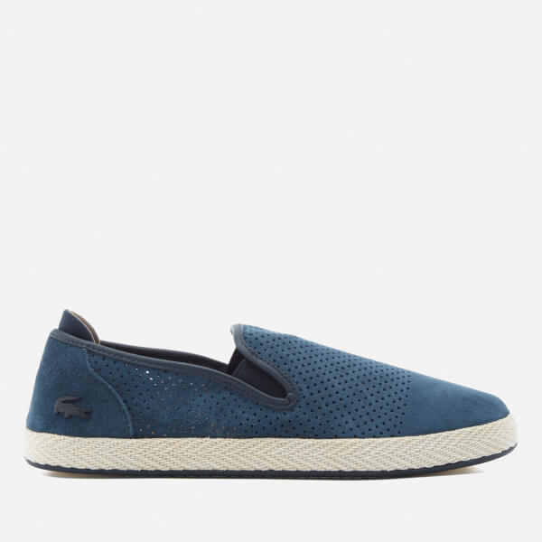 23e7a8dd005 Lacoste Men s Tombre Slip-On 117 Espadrilles - Navy  Image 1