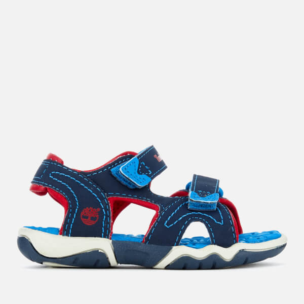 Timberland Toddlers' Adventure Seeker 2 Strap Sandals - Navy/Blue/Red