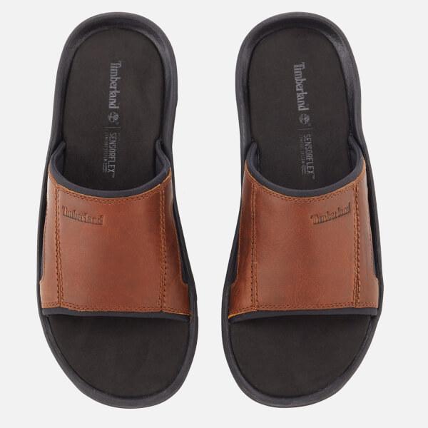 6049750140a0 Timberland Men s Roslindale Slide Sandals - Wheat