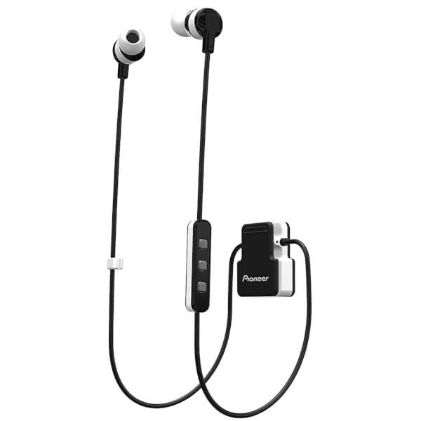 pioneer bluetooth headphones. pioneer se-cl5bt-gr wireless bluetooth earphones - white headphones