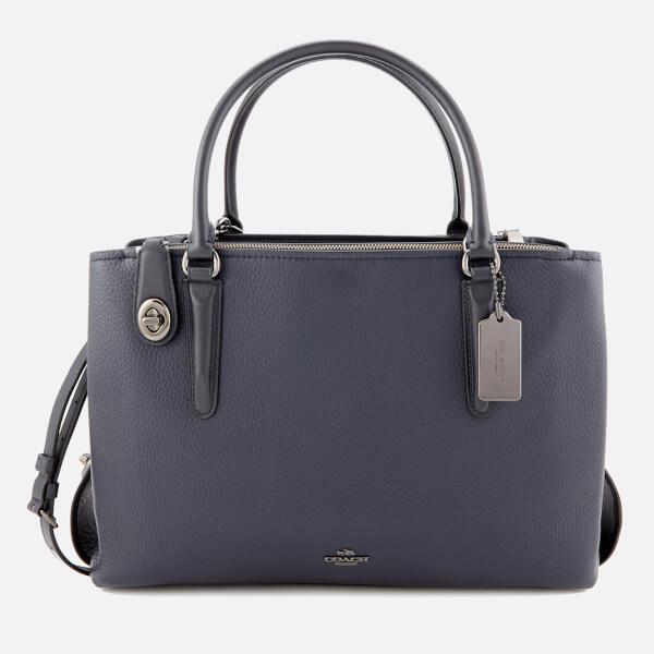 Coach Women's Brooklyn Carryall 34 Bag - Navy