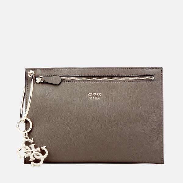 Guess Women's Digital Ring Clutch Bag - Fog