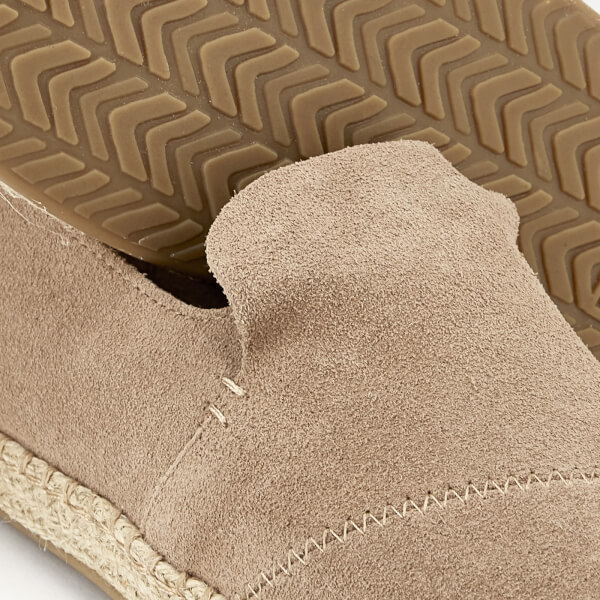 ae923d5aa31 TOMS Women s Deconstructed Suede Alpargata Espadrilles - Dessert Taupe   Image 4