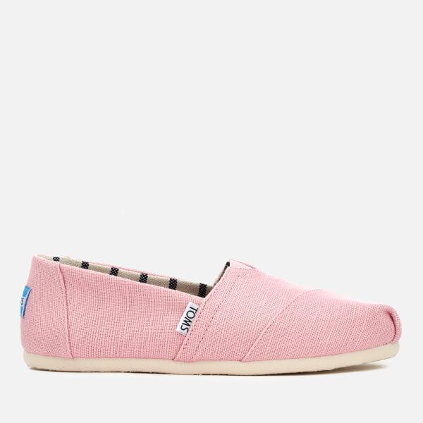 TOMS Women's Alpargata Slip-On Pumps - Powder Pink
