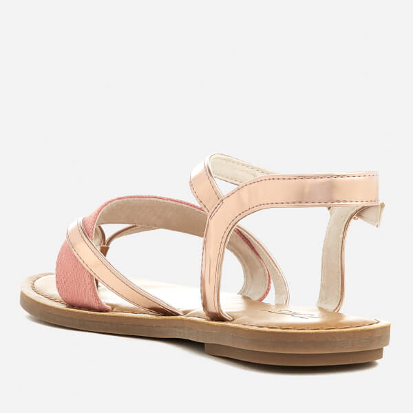 2d555835f5c5 TOMS Women s Lexie Strappy Sandals - Rose Gold Specchio Hep  Image 2