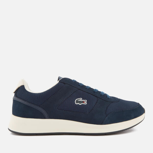 Lacoste Men's Joggeur 118 1 Runner Trainers - Navy/Off White: Image 1