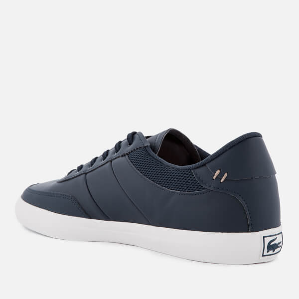 Lacoste Men's Court Master 118 2 Leather Trainers - /Off White - UK 10 kMrFY
