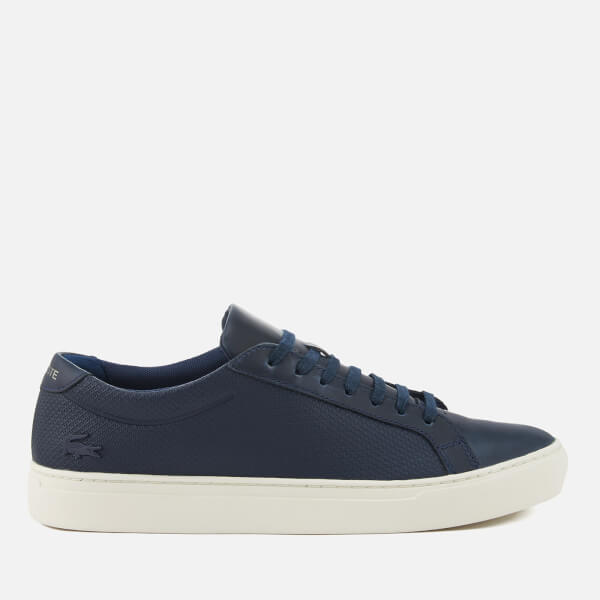 b2d8225c999964 Lacoste Men s L.12.12 113 Leather Cupsole Trainers - Navy Off White  Image