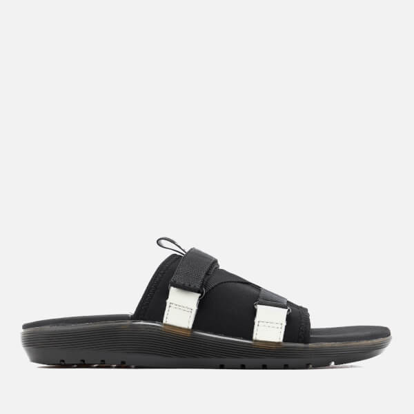 Dr. Martens Nerida Neoprene Webbing Slide Sandals - Black