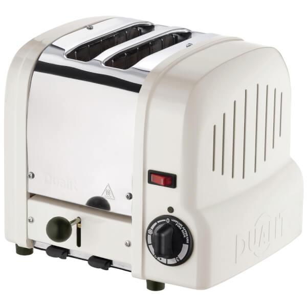 Dualit 27361 Classic Origins 2 Slot Toaster - Canvas White