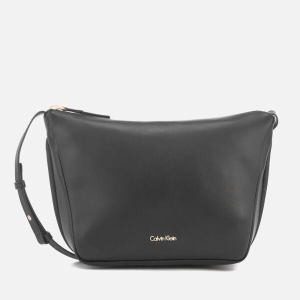 Calvin Klein Women's Suave Cross Body Bag - Black
