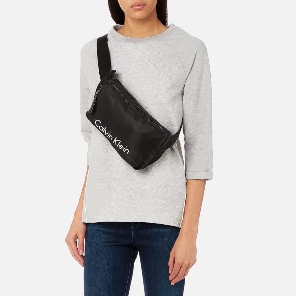 e7dcf9286bbb Calvin Klein Women s Blithe Urban Cross Body Waist Belt Bag - Black  Image 3