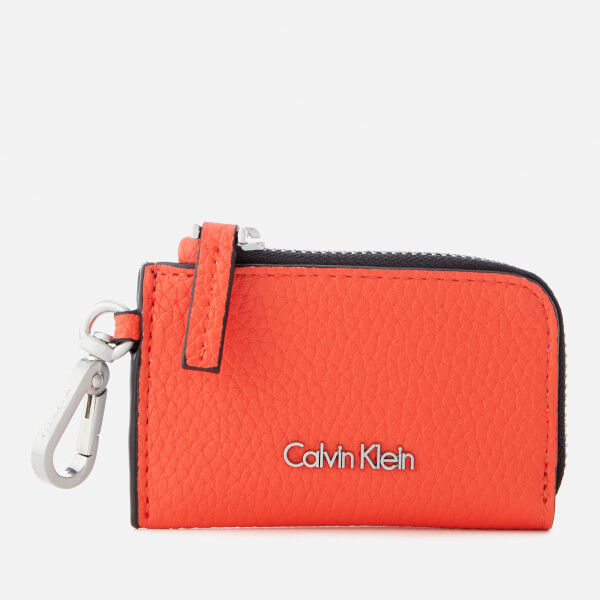 Calvin Klein Women's Edit Coin Purse - Burnt Orange