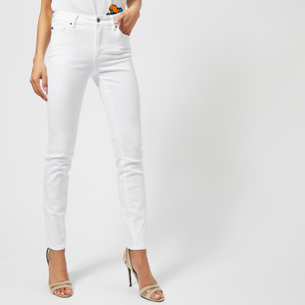 Armani Exchange Women's Skinny Jeans - White