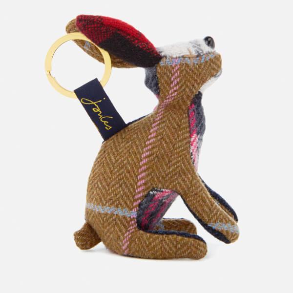 Joules Women's Tweedle Keyring - Hare