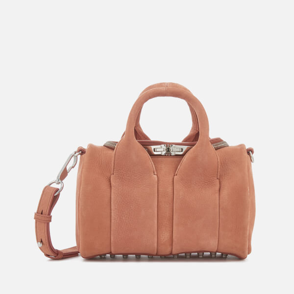 Alexander Wang Women's Rockie Pebbled Nubuck Bag - Terracotta