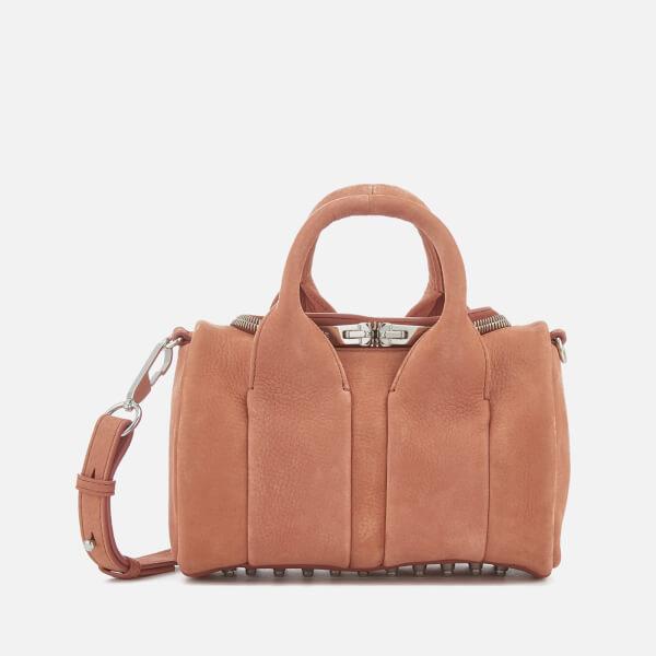 Alexander Wang Women's Rockie Pebbled Nubuck Bag - Terracotta