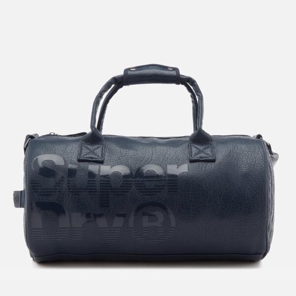 Superdry Men S Lineman Barrel Bag Navy Mens Accessories