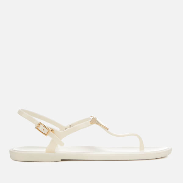 703f3be14fbd9a Emporio Armani Women s Coqui Soft Jelly Sandals - Off White  Image 1
