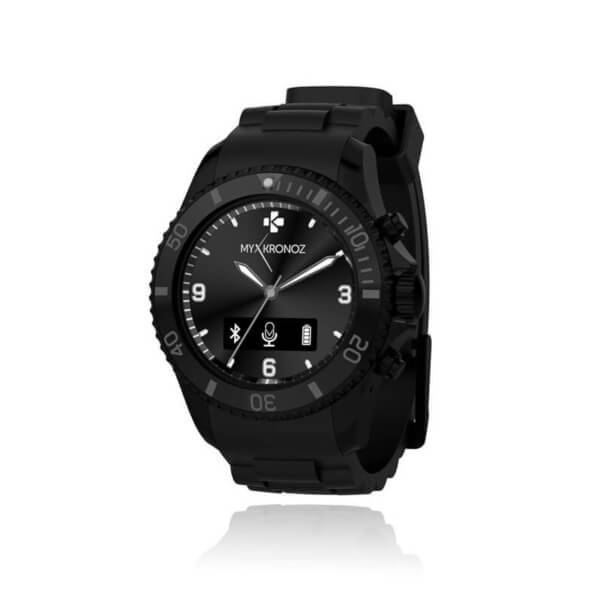 MyKronoz Zeclock Bluetooth Smart Watch - Black
